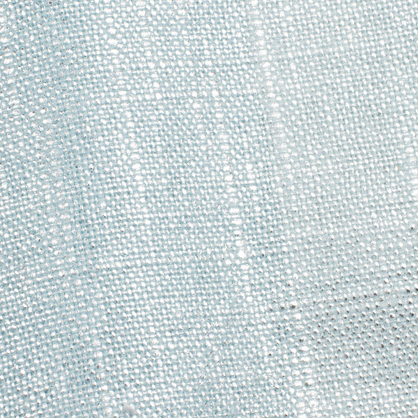 SAMPLE - Swiss Silver And Blue 2 Linen Cotton 8 Oz (Medium Weight | 53 Inch Wide | Extra Soft)