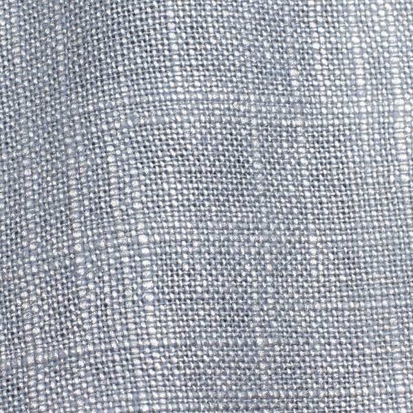 Swiss Silver And Blue 1 Linen Cotton 8 Oz (Medium Weight | 53 Inch Wide | Extra Soft)