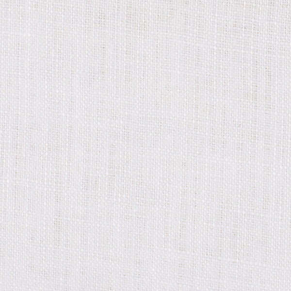 SAMPLE - Troy White 1 - 100% Linen 2.5 Oz (Very Light Weight | 56 Inch Wide | Extra Soft) Novelty