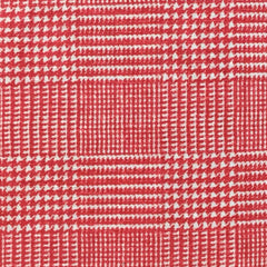 Red and White Plaid 100% Linen (Light/Medium Weight | 56 Inch Wide| ) Promotional Collection
