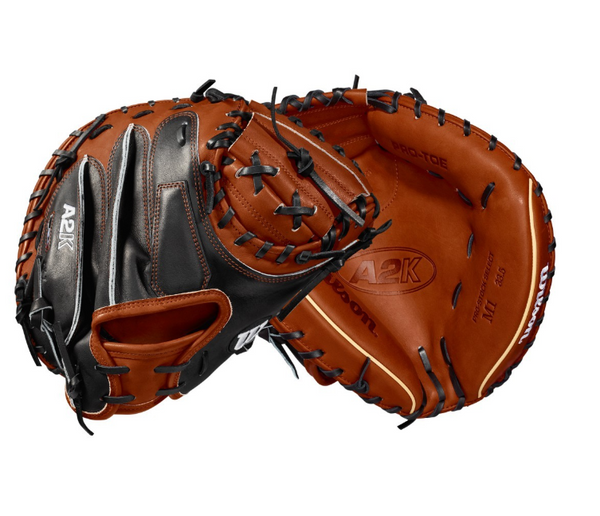 "2018 A2K M1 33.5"" CATCHER'S BASEBALL MITT - RIGHT HAND THROW"