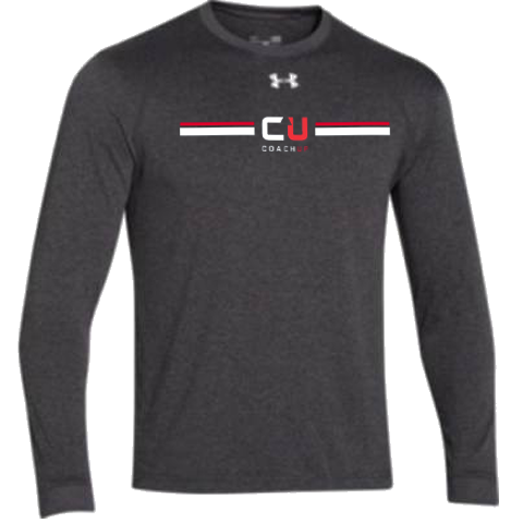 Men's CoachUp Under Armour Stripe Long Sleeve Locker T-Shirt