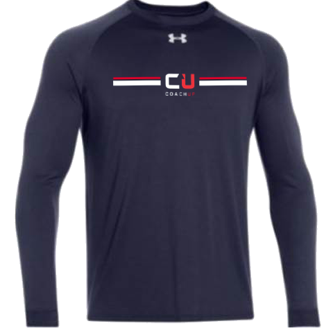 Men's CoachUp Under Armour Locker Tee 2.0 Long Sleeve