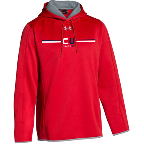 Men's CoachUp Under Armour Double Threat Armour Fleece Hoody