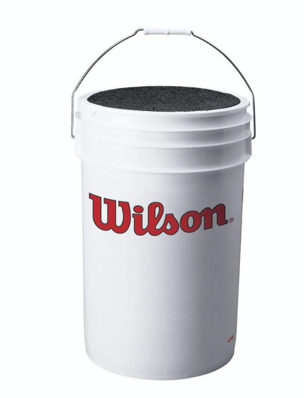 WILSON BALL BUCKET WITH CUSHION LID