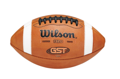 Wilson TDY GST Leather Football - Youth (Ages 12-14)