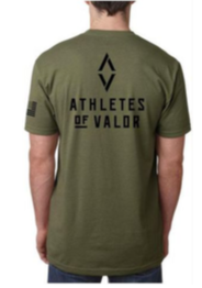Athletes of Valor T-Shirt - Green