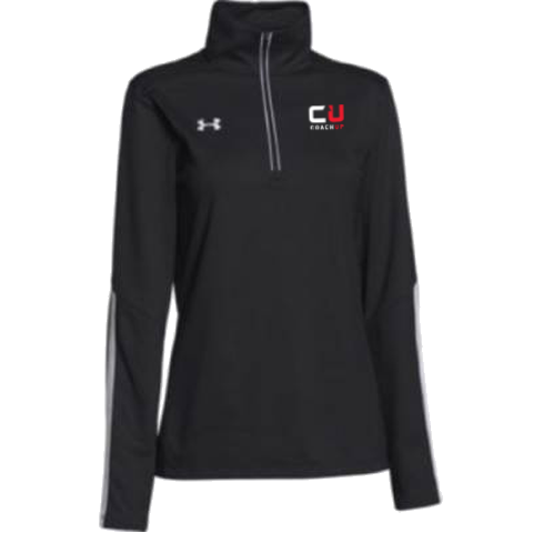 Women's CoachUp Under Armour Qualifier 1/4 Zip