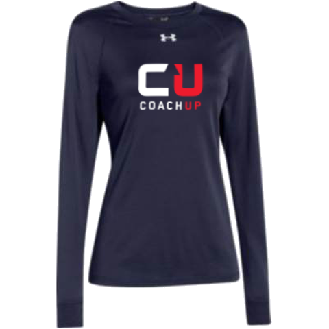 Women's CoachUp Under Armour Long Sleeve Locker Tee