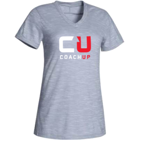 Women's CoachUp Under Armour Stadium Tee