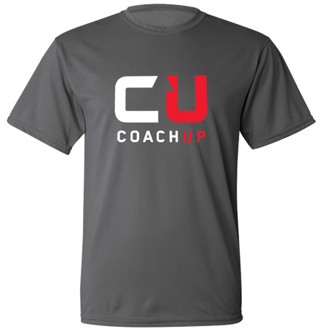 Youth CoachUp Sport Tek T-Shirt