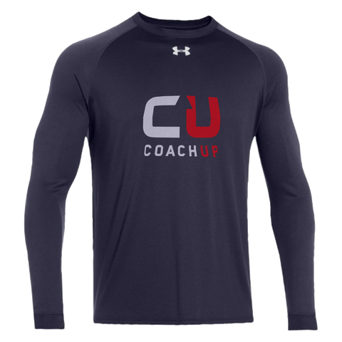 Kid's Under Armour CoachUp Long Sleeve Locker T-Shirt