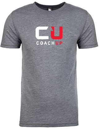 Men's CoachUp Next-Level Tri-Blend Crew - Premium Heather