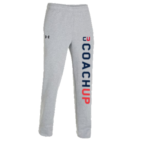 Men's CoachUp UA Rival Fleece Team Pant