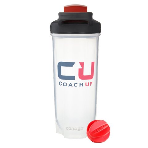 CoachUp Contigo Shake Fit Shaker Water Bottle