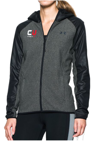 Women's Under Armour CoachUp Infrared Survivor Fleece Full Zip