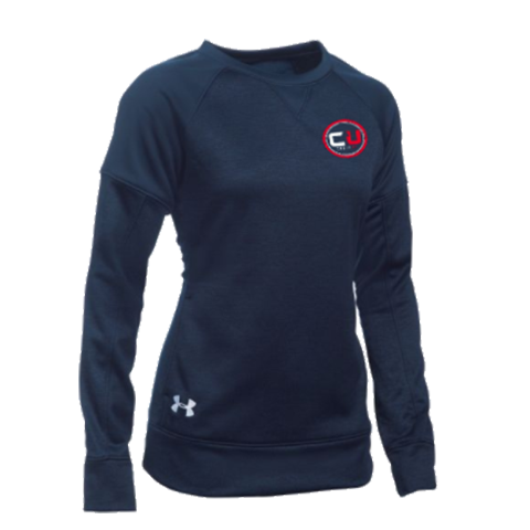 Women's CoachUp UA Armour® Fleece Textured Crew