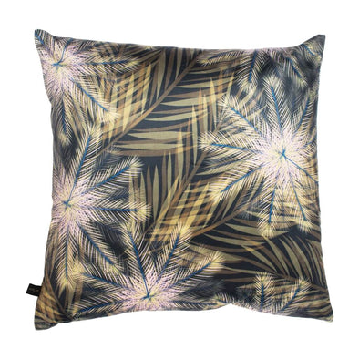 Autumn Ferns Velvet Cushion