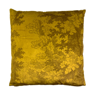 Autumn Woods Velvet Cushion
