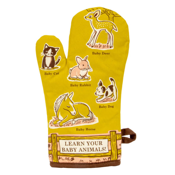 Baby Animals Oven Glove