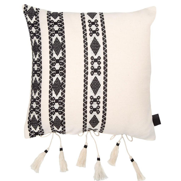 Bedouin Style Tasselled Cushion