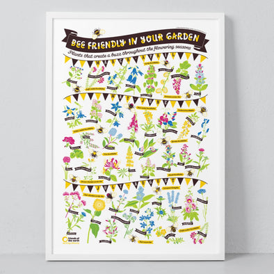 Bee Friendly Print