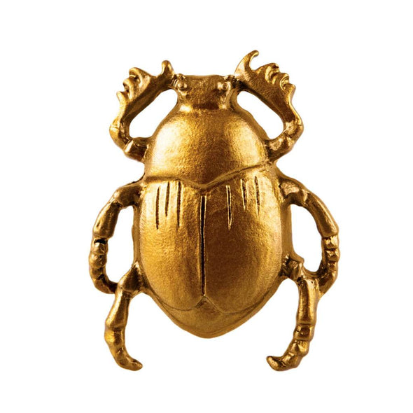 Beetle Gold Drawer Knob
