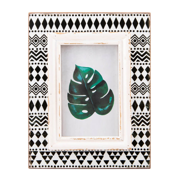 Black and White Boho Photo Frame