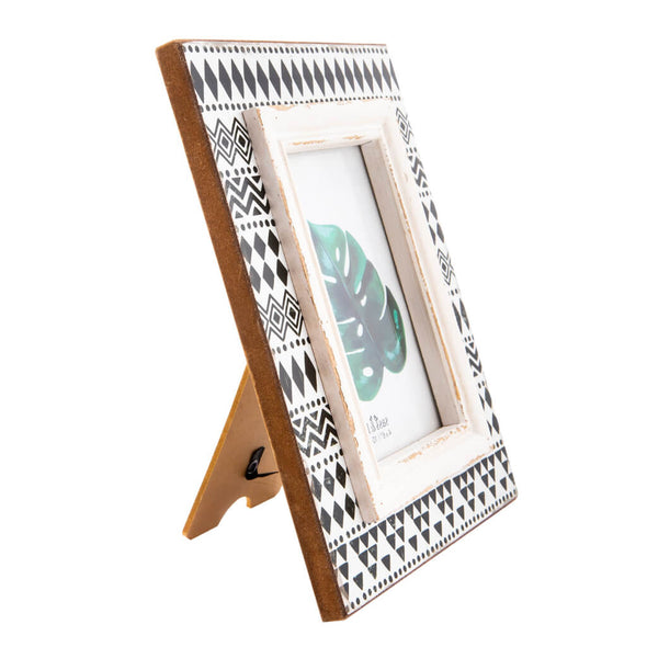 Black and White Boho Picture Frame