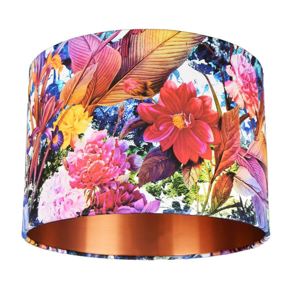Blooming Flowers Lampshade