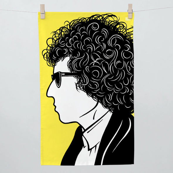 Bob Dylan Tea Towel