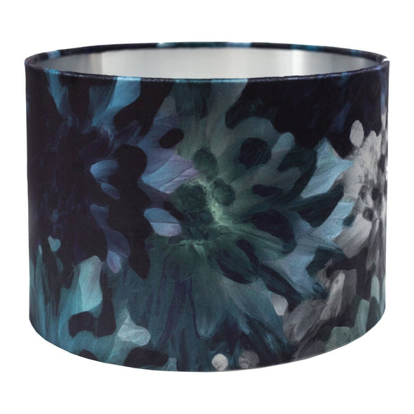 Botanic Lampshade With Silver Metallic Lining