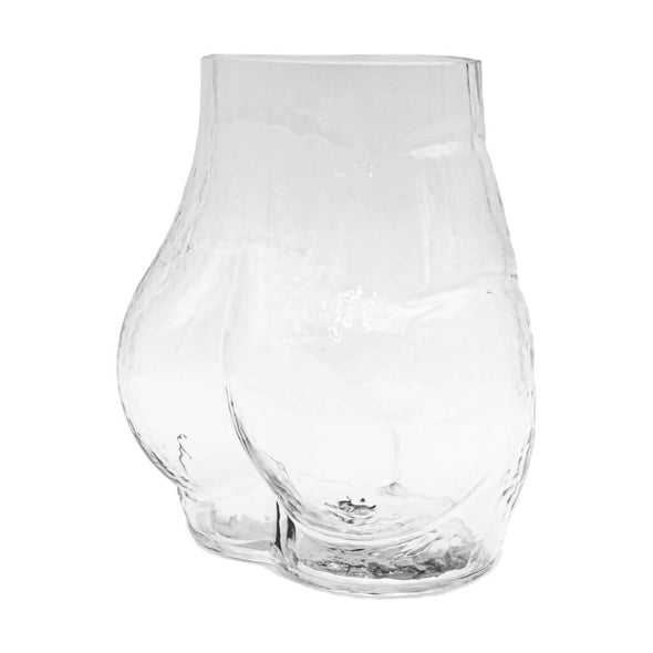 Bottom Shaped Glass Vase