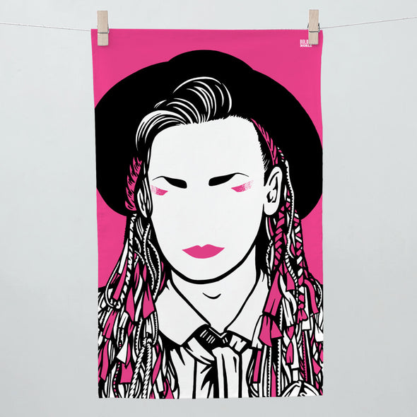 Boy George Tea Towel