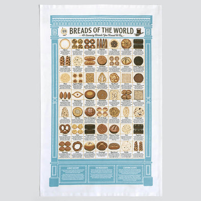 Breads of the World Kitchen Towel