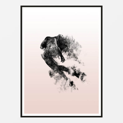 Cloud Dancer Art Print