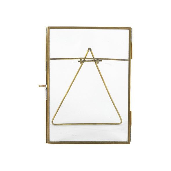 Copper Picture Frame White Background