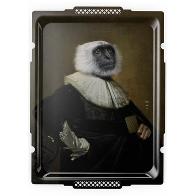 Decorative Monkey Serving Tray