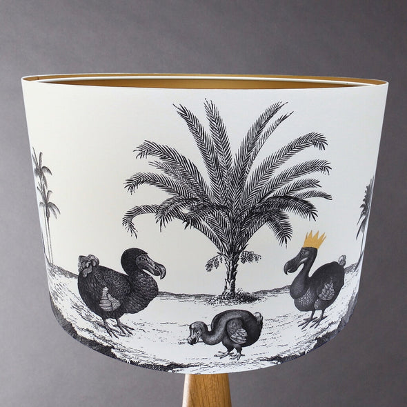 Dodo Illustrated Lampshade