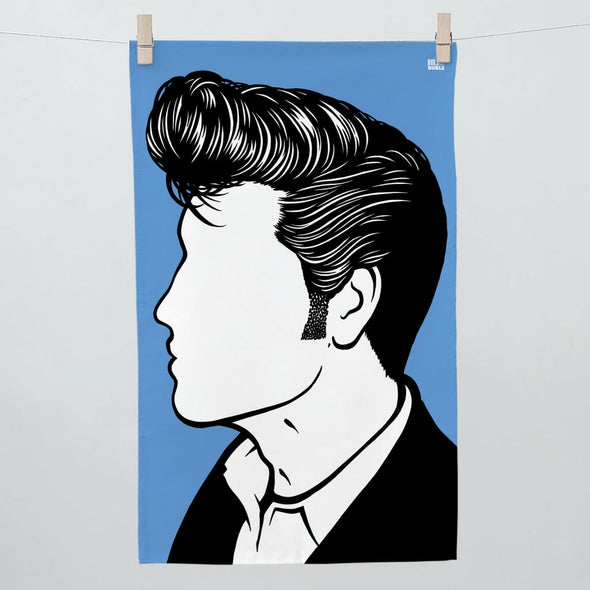Elvis Presley Tea Towel