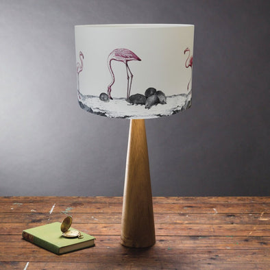 Flamingos and Hedgehogs Lampshade