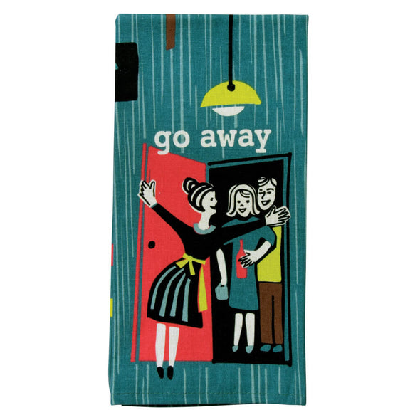 Go Away Kitchen Towel