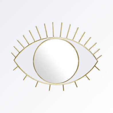 Gold Eye Wall Mirror