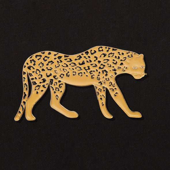 Gold Leopard Bottle Opener