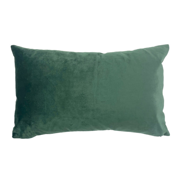 Green Palms Rectangle Cushion Back