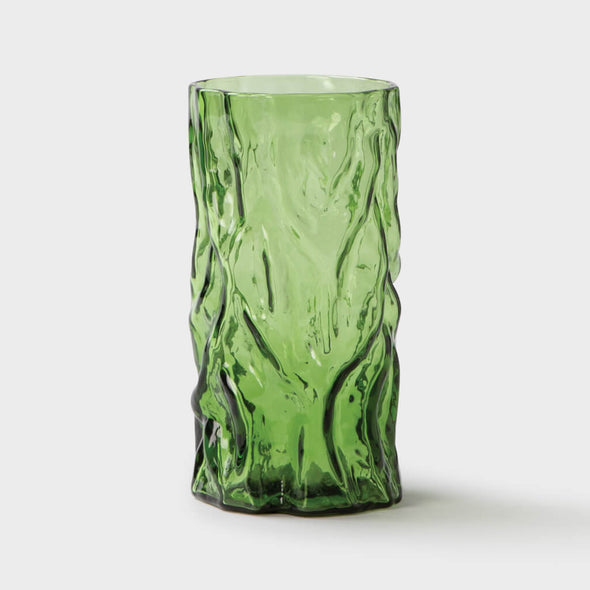 Green Tree Trunk Vase