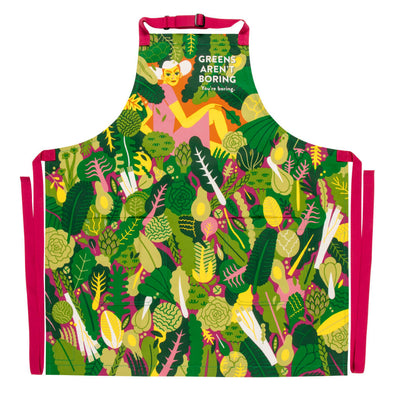Greens Aren't Boring Apron