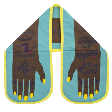 Grill Power Double Oven Glove Yellow