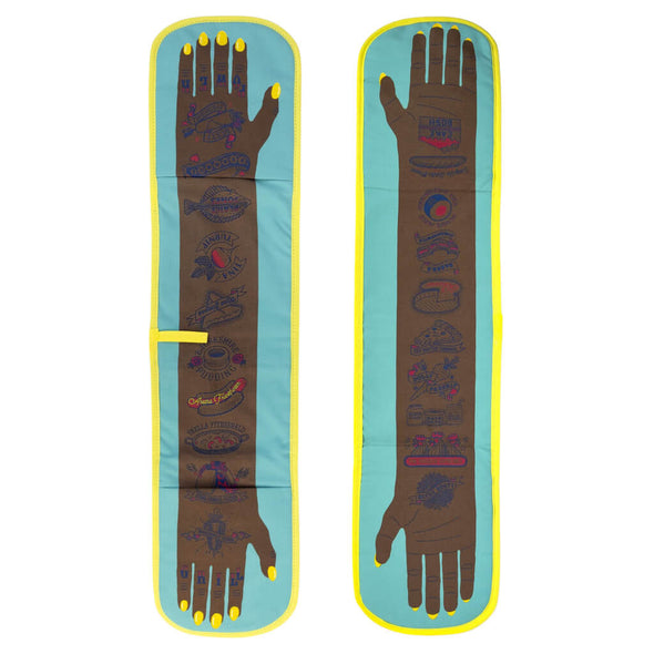 Grill Power Double Oven Mitt Yellow