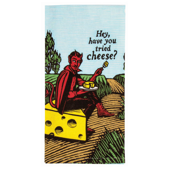 Have You Tried Cheese Kitchen Towel